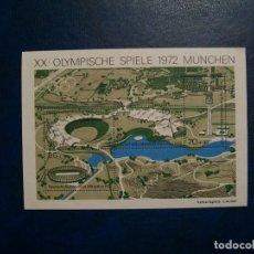 Sellos: LIQUIDACION-ALEMANIA FEDERAL-1972-BLOQUE EN NUEVO(*MNH)-J.O.MUNICH'72. Lote 254780445