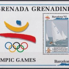 Sellos: F-EX24832 GRENADA & GRENADINES MNH 1992 OLYMPIC GAMES BARCELONA ´92 HANDED DINGY SHIP. Lote 270229248