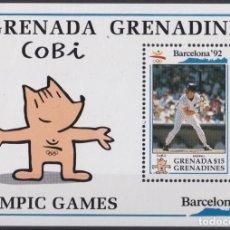 Sellos: F-EX24833 GRENADA & GRENADINES MNH 1992 OLYMPIC GAMES BARCELONA ´92 BASEBALL BEISBOL. Lote 270229258