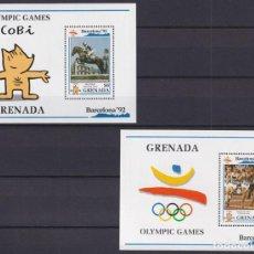 Sellos: F-EX24826 GRENADA MNH 1992 OLYMPIC GAMES BARCELONA ´92 COBI ATHLETICS.. Lote 270229263