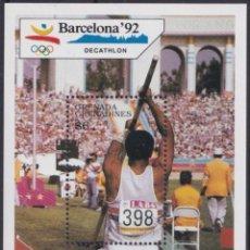 Sellos: F-EX24830 GRENADA & GRENADINES MNH 1992 OLYMPIC GAMES BARCELONA ´92 DECATHLON.. Lote 270229273