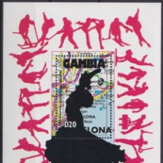 Sellos: F-EX24835 GAMBIA MNH 1992 OLYMPIC GAMES BARCELONA ´92 COLUMBUS SCULTURE. Lote 270229293