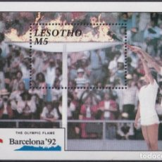 Sellos: F-EX24857 LESOTHO MNH 1992 OLYMPIC BARCELONA ´92 STADIUM OLYMPIC FLAME. Lote 270229358