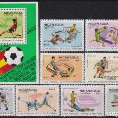 Sellos: F-EX25030 NICARAGUA MNH 1982 SPAIN SOCCER FUTBOL CHAMPIONSHIP.. Lote 270991973