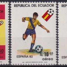 Sellos: F-EX25024 ECUADOR MNH 1982 SPAIN SOCCER FUTBOL CHAMPIONSHIP.. Lote 270991988
