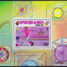 Sellos: F-EX25065 NIGER MNH 1982 SPAIN SOCCER FUTBOL CHAMPIONSHIP.. Lote 270991998