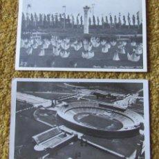 Sellos: OLIMPIADAS DE BERLIN 1936, DOS TARJETAS POSTALES DE LOS JUEGOS OLIMPICOS DE ALEMANIA DE 1936.. Lote 274613783