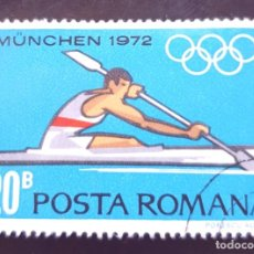 Sellos: MICHEL RO 3013 - RUMANÍA - SUMMER OLYMPIC GAMES 1972 - MUNICH - 1972. Lote 288988098
