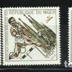 Sellos: NIGER 1992 - JUEGOS OLIMPICOS DE BARCELONA 92 - SERIE DE 3 SELLOS. Lote 289504273
