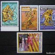 Sellos: REPÚBLICA MALAGASY JUEGOS OLÍMPICOS 1992 MNH** LUJO!!!. Lote 290009563