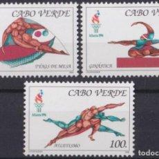 Sellos: F-EX27756 CABO VERDE MNH 1996 ATLANTA OLYMPIC GAMES ATHLETISM GYMNASTIC TENNIS. Lote 293290288