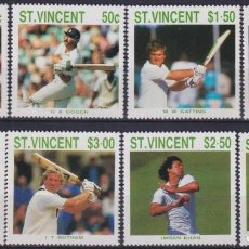 Sellos: F-EX27773 ST VINCENT MNH 1988 CRICKET GAMER.. Lote 293290323