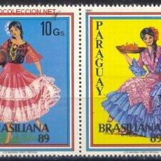 Sellos: PARAGUAY 1981 2434/35 FOLCLORE 2V . Lote 1907222