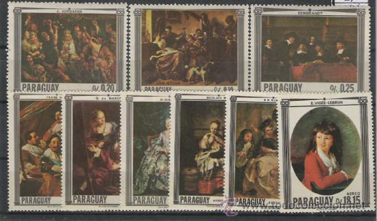 PARAGUAY SERIE NUEVA NORMAL Y AEREA (Sellos - Extranjero - América - Paraguay)