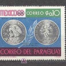 Sellos: PARAGUAY, NUEVO. Lote 21012354