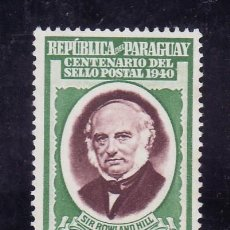 Sellos: PARAGUAY 399 SIN GOMA, ROWLAND HILL. Lote 24439786