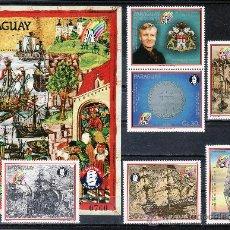 Sellos: PARAGUAY A 1134/8, HB SIN CHARNELA, BARCO, VIII CENTENARIO DE HAMBURGO, . Lote 24416800