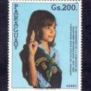 Sellos: PARAGUAY A 949 SIN CHARNELA, 76º ANIVERSARIO DEL SCOUTS Y ASOCIACION FEMENINA DE PARAGUAY . Lote 48263975