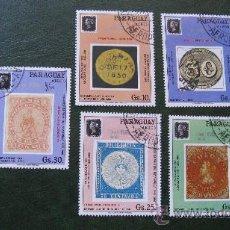 Sellos: 1990 PARAGUAY, 150 ANIV.DEL PRIMER SELLO POSTAL. Lote 29876820