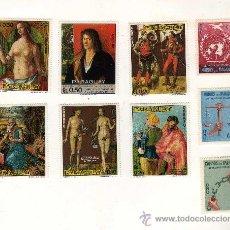 Sellos - LOTE DE 9 SELLOS NUEVOS DE PARAGUAY - 32275577