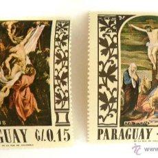 Sellos: SELLOS PARAGUAY 1967. PINTURAS. NUEVOS.. Lote 47589874