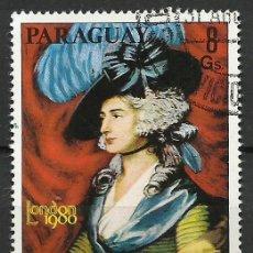 Selos: PARAGUAY - 1978 - MICHEL 3097 // SCOTT 1856F - USADO. Lote 53465116