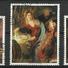 Selos: PARAGUAY - 1982 - MICHEL 3564/3566 // SCOTT C514/C516 - USADO. Lote 53465247