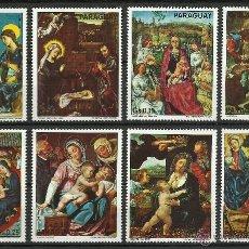 Selos: PARAGUAY - 1975 - MICHEL 2624/2631 // SCOTT 1547** MNH. Lote 53465334