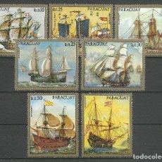 Selos: PARAGUAY - 1972 - MICHEL 2298/2304 // SCOTT 1430/1432** MNH. Lote 66012702
