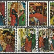 Selos: PARAGUAY - 1971 - MICHEL 2127/2133 // SCOTT 1318/1320** MNH. Lote 66013166
