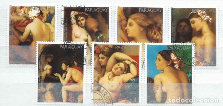 PARAGUAY,PINTURA,YNGRES,SERIE COMPLETA,1981,USADO (Sellos - Extranjero - América - Paraguay)