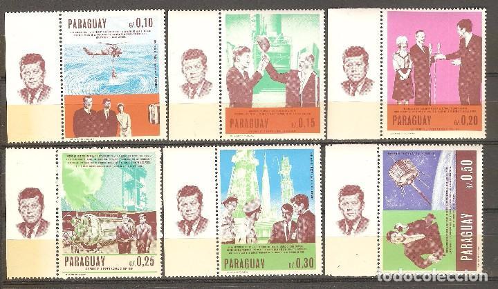 PARAGUAY,1967,CAT.MI.1757 A 1762.NUEVOS,G.ORIGINAL,SIN FIJASELLOS. (Sellos - Extranjero - América - Paraguay)
