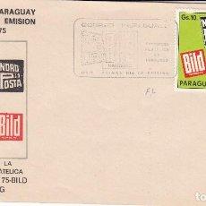 Sellos: SOBRE: 1975 PARAGUAY. Lote 76822619