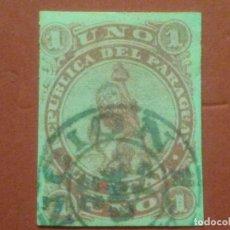 Sellos: PARAGUAY , YVERT Nº 1 , . Lote 84837072