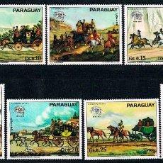 Sellos: PARAGUAY 2583/9, CENTENARIO DE LA UPU, UNIÓN POSTAL UNIVERSAL, NUEVO ***. Lote 89676632