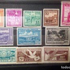 Sellos: PARAGUAY.AÑOS 1929 Y 1940-SERIES COMPLETAS NUEVAS.. Lote 92155330