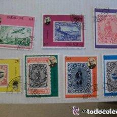 Sellos: LOTE DE 7 SELLOS DE PARAGUAY : FILATELIA. Lote 92848695