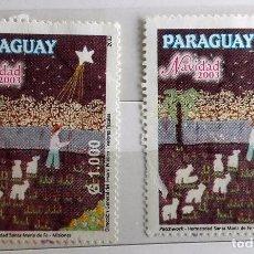 Sellos: PARAGUAY, 2 SELLOS SIN USAR . Lote 93678470