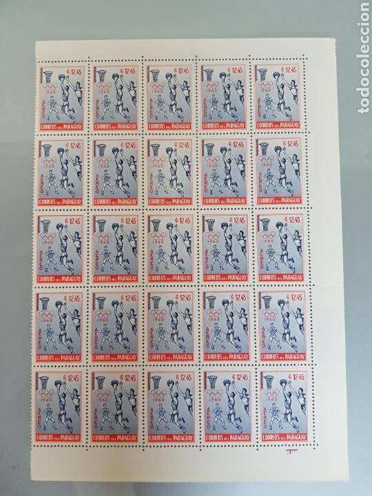 Sellos: SELLOS PARAGUAY 1960 NUEVOS BLOQUES DE 25 BASQUET - Foto 8 - 94037697