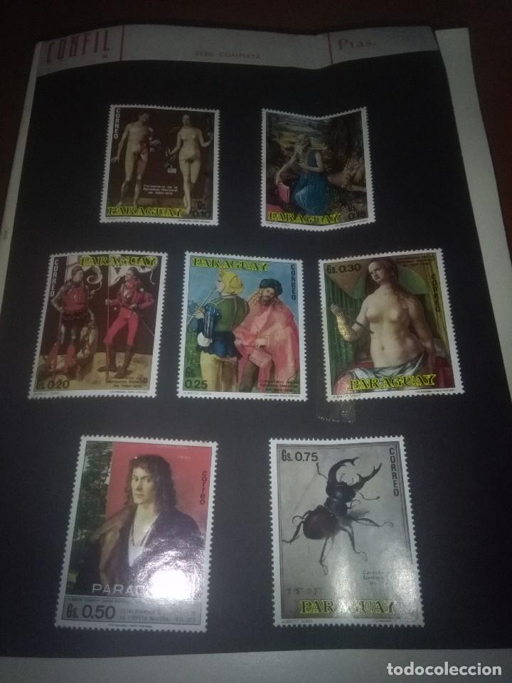 LOTES DE 7 SELLOS. PARAGUAY. EST24B2 (Sellos - Extranjero - América - Paraguay)