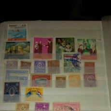 Sellos - Álbum 9 lote de 39 sellos de paraguay - 110569470