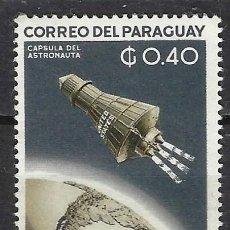 Sellos: PARAGUAY / ESPACIO - SELLO NUEVO CON CHARNELA. Lote 113262659
