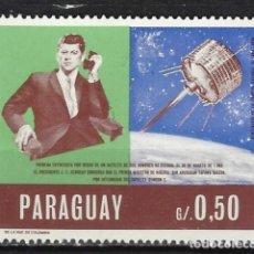 Sellos: PARAGUAY / ESPACIO/KENNEDY - SELLO NUEVO . Lote 113262739