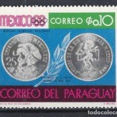 Sellos: PARAGUAY - SELLO NUEVO CON CHARNELA. Lote 113262855