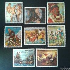 Sellos: PARAGUAY. YVERT 1459/66. SERIE COMPLETA NUEVA SIN CHARNELA. BICENTENARIO DE USA. PINTURAS. Lote 113448586