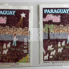 Sellos: PARAGUAY, 2 SELLOS SIN USAR . Lote 118858239