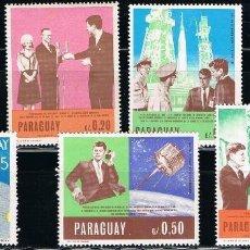 Sellos: PARAGUAY - LOTE DE 7 SELLOS - CARRERA ESPACIAL (NUEVO). Lote 129132271