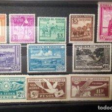 Sellos: PARAGUAY.AÑOS 1929 Y 1940-SERIES COMPLETAS NUEVAS.. Lote 135121938