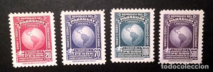 PARAGUAY.AÑO1940.UNION PANAMERICANA.AEREA. (Sellos - Extranjero - América - Paraguay)