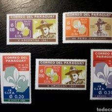 Sellos: PARAGUAY. YVERT 785/9. SERIE COMPLETA NUEVA SIN CHARNELA. SCOUTS.. Lote 142369361